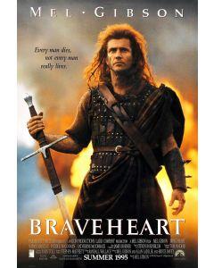 Braveheart Mel Gibson 27x40 Reprint Movie Poster 1 Sheet