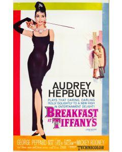 Breakfast At Tiffanys Audrey Hepburn 26x38 Reprint Movie Poster