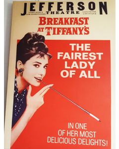 Breakfast At Tiffanys Audrey Hepburn 26x38 Reprint Movie Poster #2