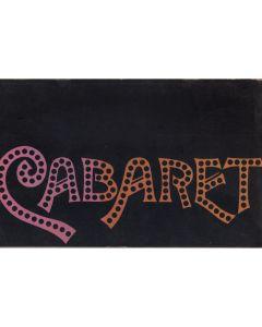 Cabaret 1972 original movie program