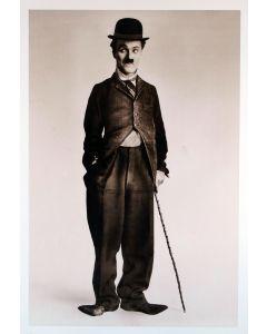 Charlie Chaplin The Tramp Reprint Movie Poster 26x38