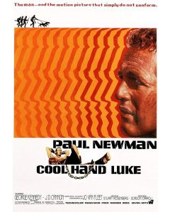 Paul Newman Reprint Movie Poster 26x38 Cool Hand Luke