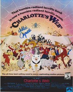 Debbie Reynolds (1932-2016) Charlotte's Web 8X10
