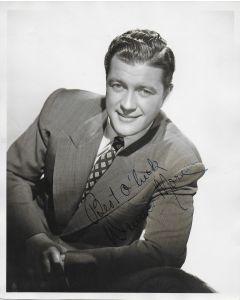 Dennis Morgan Vintage 8X10 photo