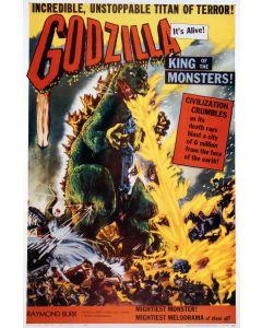 Godzilla Reprint Movie Poster 27x40