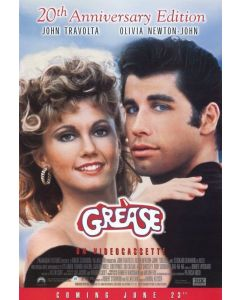 """Private Signing """"20th Anniversary Grease Poster """""""