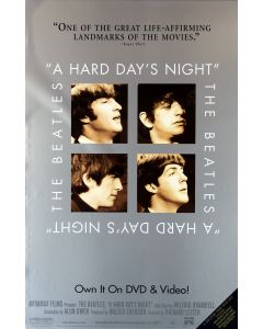 The Beatles A Hard Days Night Reprint Movie Poster 27x40