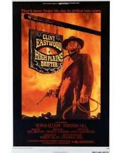 Clint Eastwood High plains Drifter Movie Poster 27x40