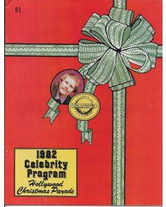 Hollywood Christmas Parade 1982 Celebrity Program