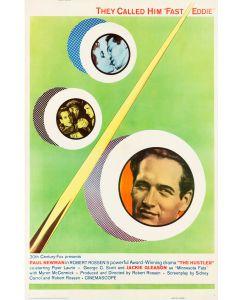 Paul Newman The Hustler Reprint Movie Poster 26x38