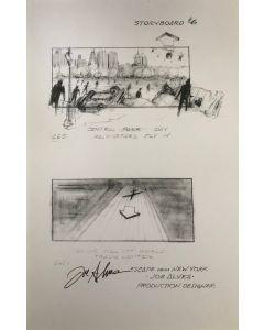 Joe Alves Jaws Original Conceptual Artwork 11X14 #3