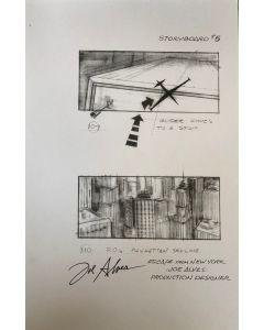 Joe Alves Jaws Original Conceptual Artwork 11X14 #4