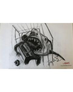 Joe Alves Jaws Original Conceptual Artwork 11X14 #11