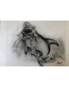 Joe Alves Jaws Original Conceptual Artwork 11X14 #12