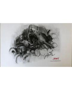 Joe Alves Jaws Original Conceptual Artwork 11X14 #13