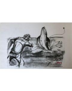 Joe Alves Jaws Original Conceptual Artwork 11X14 #14