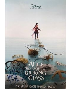 Sasha Baron Cohen Matt Lucas Alice in Wonderland 11X17