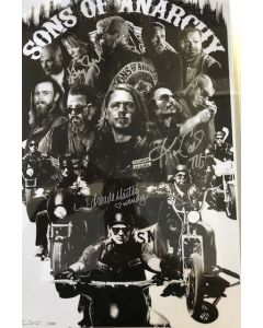 Sons of Anarchy cast of 3 11X17