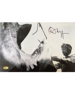 Richard Dreyfuss Jaws 10X15 w/ Ed Richard COA #2