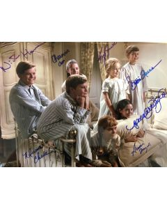 Sound Of Music exclusive 11x14 cast photo signed by 7 #4