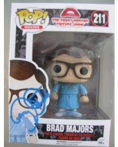 Brad Majors Rocky Horror Funko Pop #211 Vinyl Figure signed by Barry Bostwick