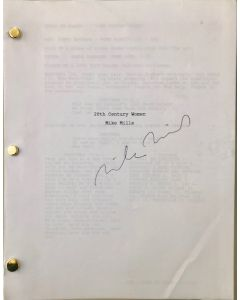 20th Century Original Script signed by director Mike Mills