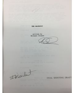 The Majestic SCRIPT - Signed by Michael Sloane and Frank Darabout