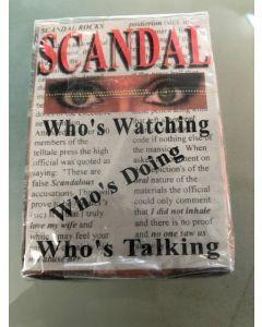 Nina Hartley Scandal Promo Playing Cards