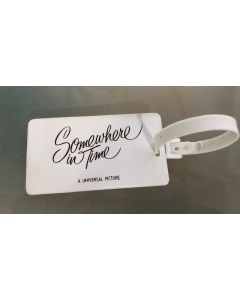 Somewhere in Time Promo luggage tag