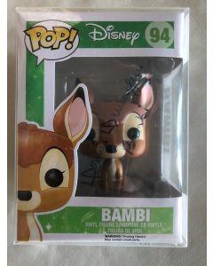 Disney  Bambi Funko Pop #94 Vinyl Figure signed Donnie Dunagan **LAST ONE**