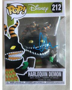 Disney Harlequin Demon Funko Pop #212 Vinyl Figure signed by Greg Proops **LAST ONE**