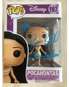 Disney Pocahontas Funko Pop #197 Vinyl Figure signed by Irene Bedard **LAST ONE**