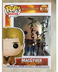MacGyver Funko Pop #707 Vinyl Figure signed by Richard Dean Anderson **LAST ONE**