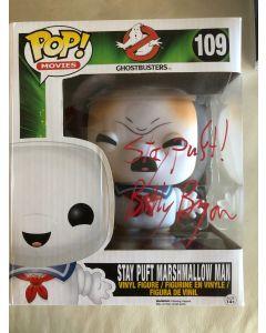 Stay Puft Marshmallow Man Funko Pop #109 Vinyl Figure signed by Billy Bryan **LAST ONE**