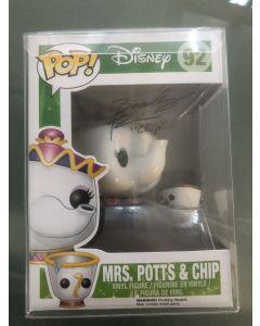 Disney Mrs Potts & Chip Funko Pop #92 Vinyl Figure signed by Bradley Pierce