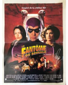 The Phantom (approx. 16X21) original French poster signed by Billy Zane