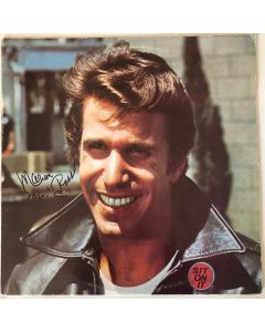 Fonzie's Favorites LP Cover signed by Marion Ross (Mrs. C.)