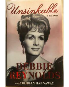 Unsinkable A Memoir BOOK signed by Debbie Reynolds (1932-2016)