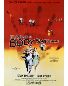 Kevin Mccarthy Invasion Of The Body Snatchers Reprint Movie Poster 24x36