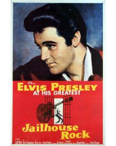 Elvis Presley Jailhouse Rock  Reprint Movie Poster 27x40