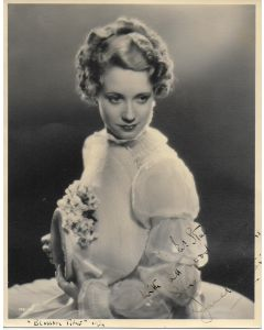 Jane Baxter Vintage Original Autographed 8X10 Photo (personalized to Mr. Stubbs)