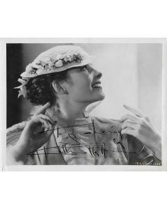 Katharine Hepburn Vintage 1928  8X10 photo (personalized to Larry)