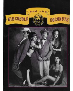 Kid Creole and the Coconuts original concert program