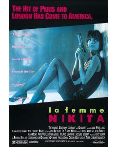 La Femme Nikita  Reprint Movie Poster 27x40