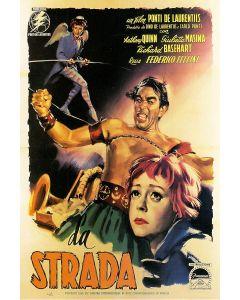 Anthony Quinn La Strada Reprint Movie Poster 27x40