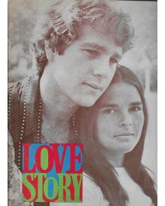Love Story (1970) original movie program