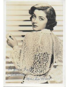 Marsha Hunt Vintage 5X7 photo (personalized to Jane Falk)