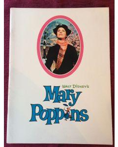 Mary Poppins 1964 original movie program