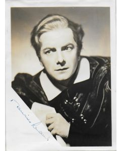 Maurice Evans Vintage photo (approx. 5X7) #2