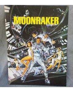 Moonraker 1979 James Bond 007 original movie program